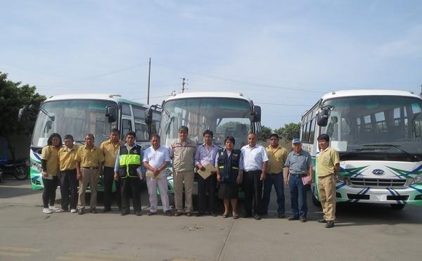 Empresas de transporte público continúan renovando flotas
