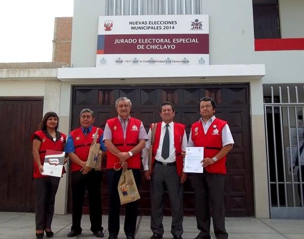 PROGRAMA VOTO INFORMADO DEL JNE INICIA ACTIVIDADES EDUCATIVAS EN JURADO ELECTORAL DE CHICLAYO