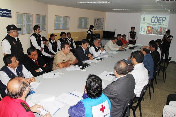 PCM destacó labor realizada por Defensa Civil de la MPT
