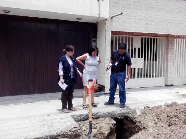 SUNASS APOYA OPERATIVOS PARA DETECTAR CONEXIONES CLANDESTINAS