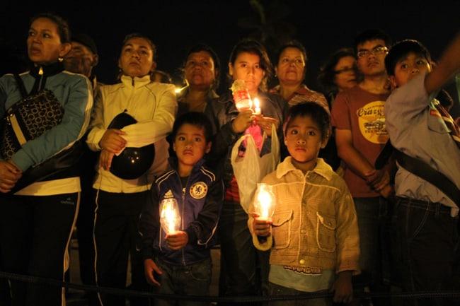 Trujillanos-participaron-en-la-'Hora-del-Planeta'