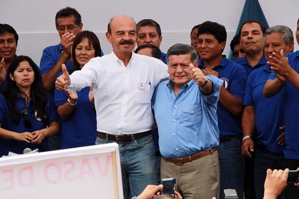 César Acuña presentó a Gral Guillermo Arteta como pre candidato a la alcaldía de Lima por APP