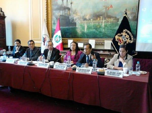 Colegio de Periodistas del Perú y gremios unidos en la defensa de la libertad de expresión