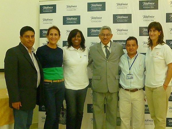Fundación Telefónica apoya al Deporte Escolar en La Libertad