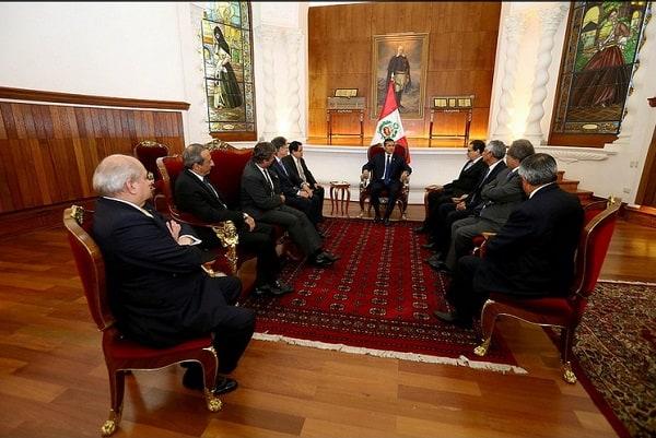 Mandatario Ollanta Humala presidió Consejo de Estado para definir acciones de lucha contra la corrupción