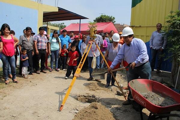Municipio El Porvenir remodelan IEI N 111 Angelitos de Jesús de Nueva Florencia