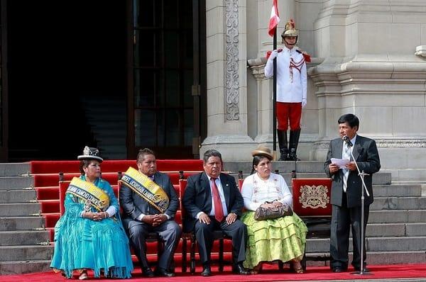 Palacio de Gobierno es escenario del lanzamiento