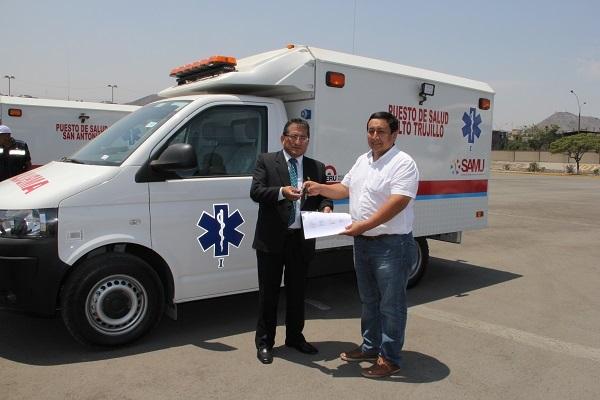 El-distrito-de-El-Porvenir-recibe-ambulancia-equipada-para-Centro-Poblado-de-Alto-Trujillo