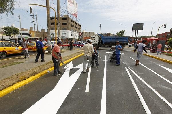 Toda la avenida Ricardo Palma será señalizada por la MPT