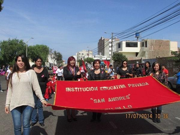 Desfile Territorial de Fiestas Patrias en San Andrés