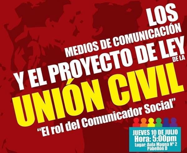 Personalidades trujillanas discutirán Proyecto de Unión Civil