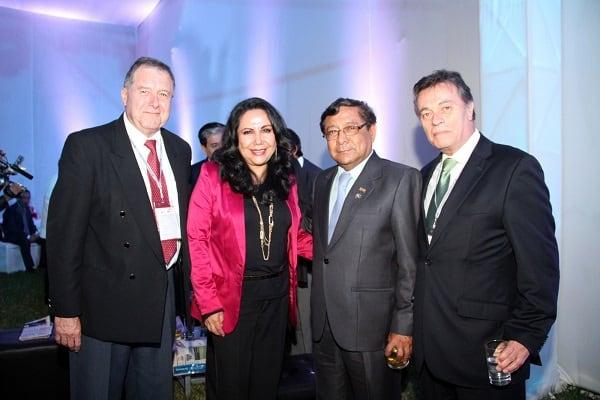 Alcaldesa resaltó importante rol de empresarios en el desarrollo regional