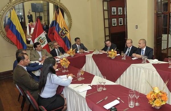 CCPLL gesta importante convenio internacional con Cámaras de Quito y Cali