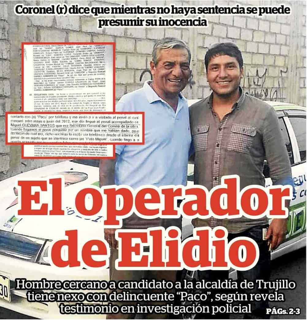 EL OPERADOR DE ELIDIO