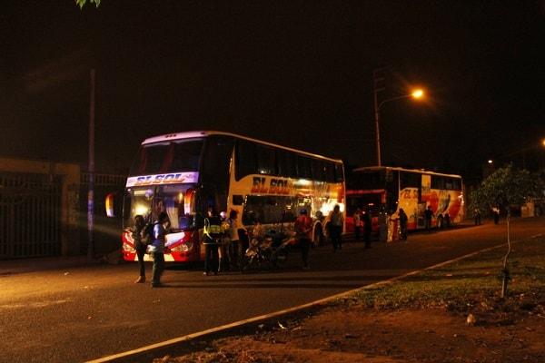 Empresas de transporte informal en Av. Ejército volverán a ser intervenidas