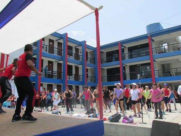 Jóvenes de la Casa de la Juventud participaron en el I Festival de Fitness