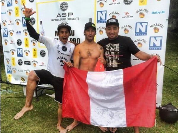 Piccolo Clemente ganó circuito mundial de longboard