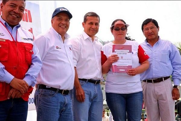 Puente Piedra 1,390 títulos de propiedad para que pobladores tengan seguridad jurídica y accedan a programas de vivienda