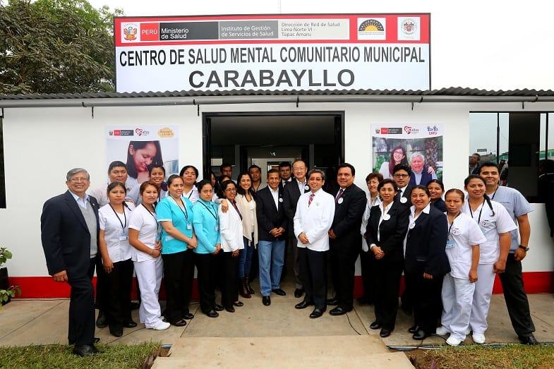 Perú tiene un modelo de atención de la salud mental que puede servir para otros países